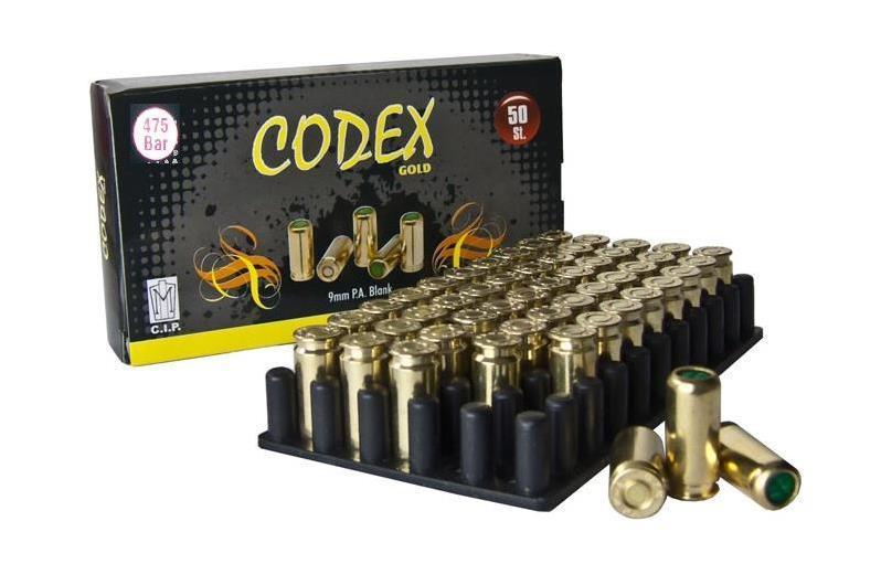 Codex 500 Bar Kurusıkı Mermisi
